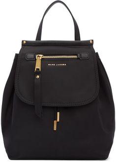 Shop Now - >  https://api.shopstyle.com/action/apiVisitRetailer?id=609046723&pid=uid6996-25233114-59 Marc Jacobs Black Trooper Backpack  ...