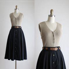 Retro Fashion, Girl Fashion, Vintage Fashion, Fashion Outfits, Womens Fashion, Skirt Outfits, Casual Outfits, Cute Outfits, Moda Vintage