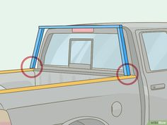 How to Build a Headache Rack. Bulkhead (Headache rack) A strong wall-like structure placed at the front of a flatbed trailer (or on the rear of the tractor) used to protect the driver against shifting cargo during a front-end collision. Truck Roof Rack, Car Roof Racks, Truck Tent, Truck Rims, Truck Accesories, Truck Bed Accessories, Vintage Jeep, Diy Kayak Storage, Truck Storage