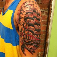 frank-grimes-tattoo:  Made this ship for Mark, really nice guy...