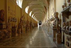 Rome, Vatican Museums, Chiaramonti Museum.