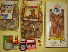 """From World Market near the Galleria in Houston. I have been dying to get my hands on the colorful """"Mother in Law's Tongue"""" pasta and mini Tabasco!     Kids are going back in School  and Parents is back to Job That brainstorming session could be pumped up by lunch DELIVERED! Want to hea"""