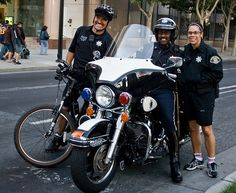san jose police | San Jose. Police on bikes are happy police - just look at that smile ...