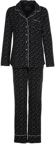 Skiny Pyjama in Schwarz mit Print (60 €)