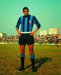 """""""Jair"""" Jair da Costa (FC Inter Milan, 1962-1967, 119 apps, 40 goals + 1968-1972, 80 apps, 14 goals), season 1963/1964. The Brazilian Jair was the last piece of the puzzle for Helenio Herrera's catenaccio attack. He was the speedy winger that allowed the strategy's counterattacks to take hold. Jair had the lone goal against Benfica in the 1967 European Champion Clubs' Cup Final that gave the nerazzurri their 2nd straight continental crown. The decline of La Grande Inter directly coincided…"""