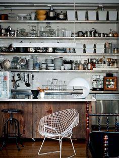 Open Kitchen - Stainless Steel - Loft Kitchen - Kit Republic Inc.