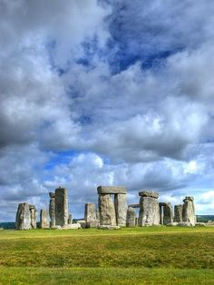 Stonehenge, Wiltshire, UK. This is a beautiful place . The stones are so massive . It's hard to believe it was made with primitive tools !