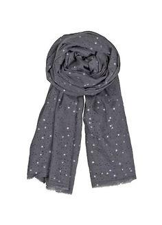 STARRY SKY smokey scarf huivi silkki villa 45 e