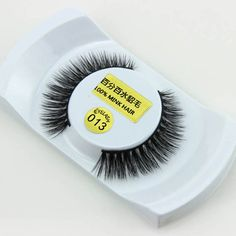 New 1 Pair False Fake Eyelashes Mink Eyelashes Thick Lashes Handmade 3D Eyelash Extension Cosmetics Beauty Makeup Tools 2017