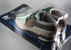 collectable or functional? break the seal to decide. Ltd Edition ZX700 Yoda by Adidas via Ebay