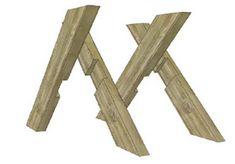 Hoe maak je een tafel van steigerhout? | voordemakers.nl Furniture Projects, Furniture Plans, Wood Furniture, Wood Projects, Breakfast Bar Table, Diy Table Top, Muebles Living, Concrete Table, Oak Dining Table