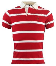 Polo Ralph Lauren Mens Custom Fit Striped Rugby Shirt - S - Red/White Polo Ralph Lauren,http://www.amazon.com/dp/B00BF0OJY2/ref=cm_sw_r_pi_dp_fXXArbAB0ECF41BA