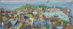 Linda Weir, rainbows St.ives on ArtStack #linda-weir #art