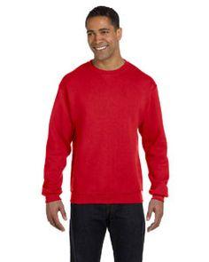 Russell Athletic Dri-Power® Fleece Crew 698HBM TRUE RED