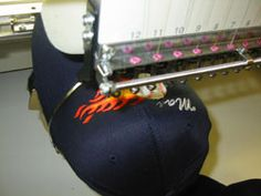 Cap Embroidery Made