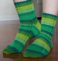 My Knitted Heart: Vanilla Socks!