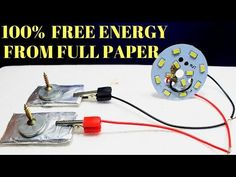 Free Energy Device, Free energy generator for light bulbs Using Copper wire and Magnet - YouTube