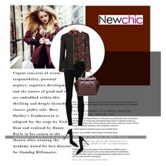 """Newchic I/3"" by amra-mak ❤ liked on Polyvore featuring moda, Ström, Gianvito Rossi y lovenewchic"
