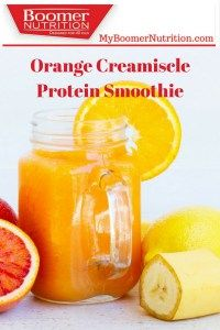 This Orange Creamsicle Protein Smoothie takes you back to your favourite childhood summer memories. Smoothie Ingredients, Smoothie Recipes, Protein Smoothies, Vanilla Ice Cubes, Vanilla Whey Protein Powder, Vitamins For Energy, Orange Creamsicle, Healthy Aging, Plain Greek Yogurt