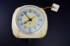 1930s Smiths Sectric Clock Cream Bakelite Clock Electric Clock Lounge Clock Kitchen Clock Home Decor Horology Analogue Electric Clock