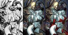 Lady Death pagan edition by ToolKitten on DeviantArt