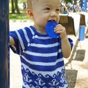 Anchors Away Pullover Knitting Patterns Free, Free Knitting, Anchors, Little Ones, Ravelry, Knit Crochet, Projects To Try, Babies, Pullover