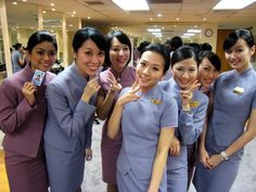 China Airlines Cabin Crew   Flickr - Photo Sharing!