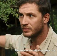 If you haven't seen Poaching Wars with Tom Hardy- you're missing out.