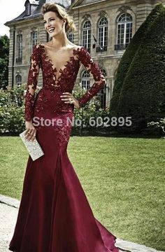 Find More Evening Dresses Information about Awesome Illusion V neck Lace Long Sleeves Mermaid Evening Dresses Formal Sexy Floor Length Beaded Saudi Arabian Dress Evening,High Quality evening dress under 100,China evening dress with straps Suppliers, Cheap dress evening shoes from youthbridal on Aliexpress.com