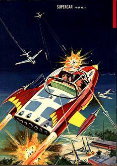 Sci Fi Comics, Horror Comics, Comics Illustration, Sci Fi Tv Shows, Space Race, Atomic Age, Retro Futurism, Sci Fi Art, Super Cars
