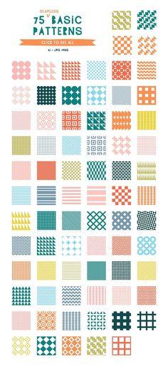 Geometric Patterns, Simple Geometric Pattern, Geometric Poster, Geometric Art, Textures Patterns, Geometric Shapes Design, Simple Geometric Designs, Fun Patterns, Pattern Drawing