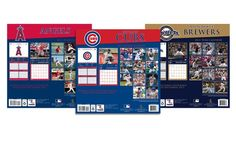 MLB 2014 Team Calendar. Multiple Teams Available. Free Returns.