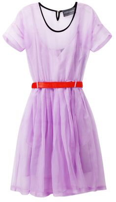 "Antipodium dress, ""This dress is the perfect icy lavender color to be pretty and professional all day at work, and then fiery fierce for a night out on the town. With just a change of accessories, this dress is suitable for anything."""