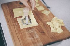 the most delicate chestnut, ricotta and spinach ravioli — dérrive