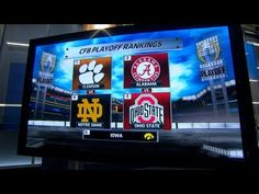Inside College Football: Playoff Rankings reactions - YouTube