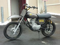 XR HONDA 1974 XR75 VINTAGE MOTOCROSS MINI ELSINORE
