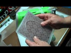 Tim Holtz for Sizzix Diffusers - YouTube