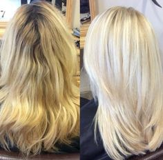 Nice and Pretty Blonde To WOW Blonde | Modern Salon