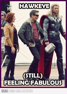 Hawkeye. Still awesome
