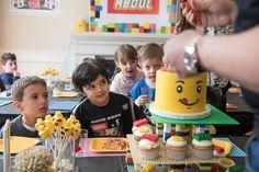 Lego Birthday Cake Lego theme party