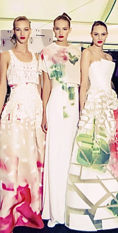 • 2015 in fashion | Carolina Herrera backstage •