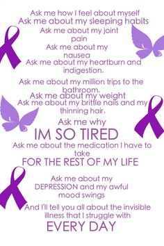Thank goodness I dont have all these symptoms. Thyroid disease awareness. Awareness ribbon. Support ribbon. Butterfly. Advocacy. Advocate. Thyroid cancer. Invisible disease. But you dont LOOK sick.