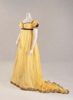 Regency dress, c. 1800-05