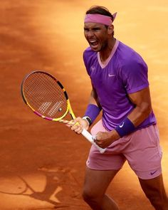 Match Point, French Open, Rafael Nadal, Roger Federer, Monte Carlo, Tennis Racket, Victorious, Rome, Two By Two