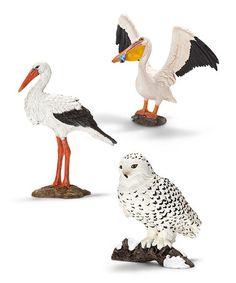 Another great find on #zulily! Wild Birds Figurine Set by Schleich #zulilyfinds