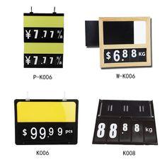 Dial Tag Chalkboard Style Plastic 2 9//16H x 4L