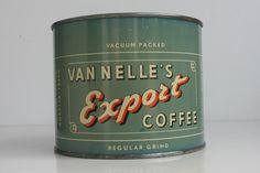 Blik Van Nelle`s Export Coffee.