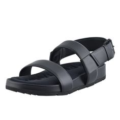 Balenciaga Women's Black Leather Open Toe Sandals Shoes -- Want additional info? Click on the image. #womenshoe