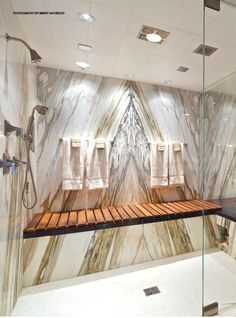 Incredible shower. Love the seat.Very relaxing.   #shower #relax #marble