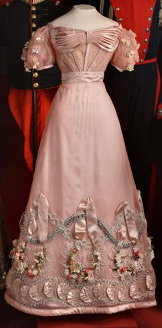 Ball gown of Princess Zinaida Yusupova, 1826-1827.